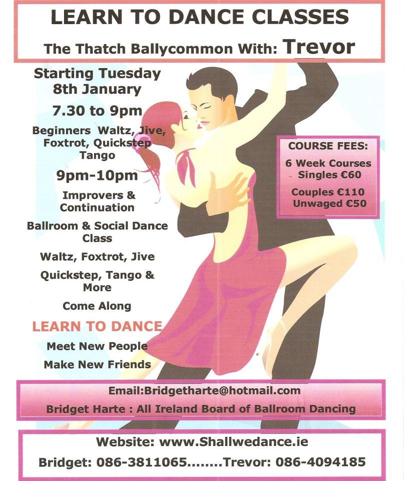 Dance Timetable