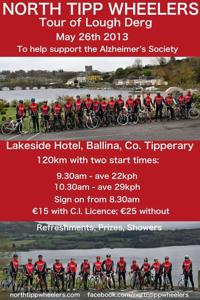 North Tipp Wheelers Tour of Lough Derg