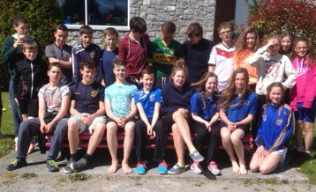 Swimmers at the North Munster Championship in Askeaton